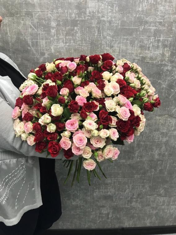 Купить букет из 55 роз харькове